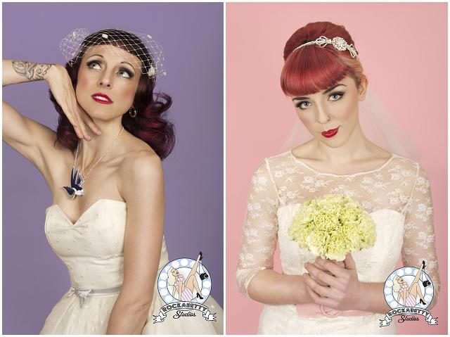 50s Pin-Up Bride: Oh My Honey | Bridal Fashion