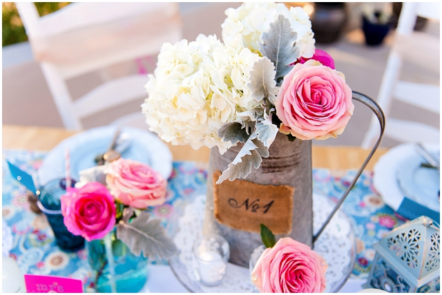 Springtime: Raspberry, Pink & Pastel Blue | Wedding Inspiration