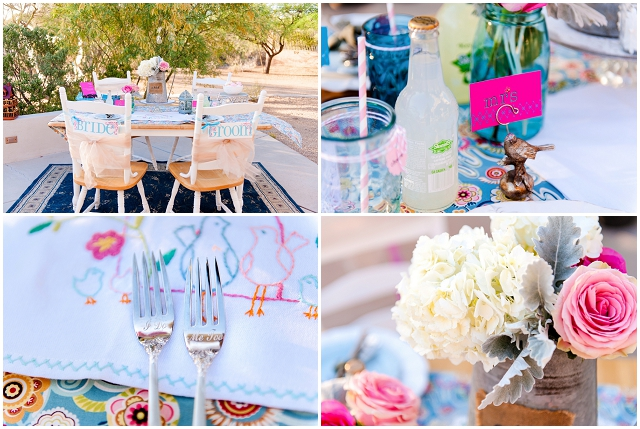 Springtime: Raspberry, Pink & Turquoise Blue | Wedding Inspiration
