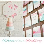 Watercolour: Wedding Inspiration | Mood Board