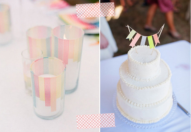 Washi Tape: DIY Wedding Ideas | Inspirations