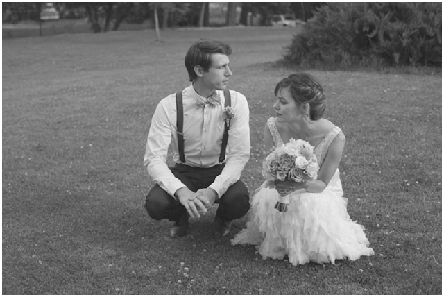 Modern Vintage Real Wedding