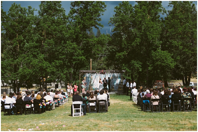 Modern Vintage Real Wedding