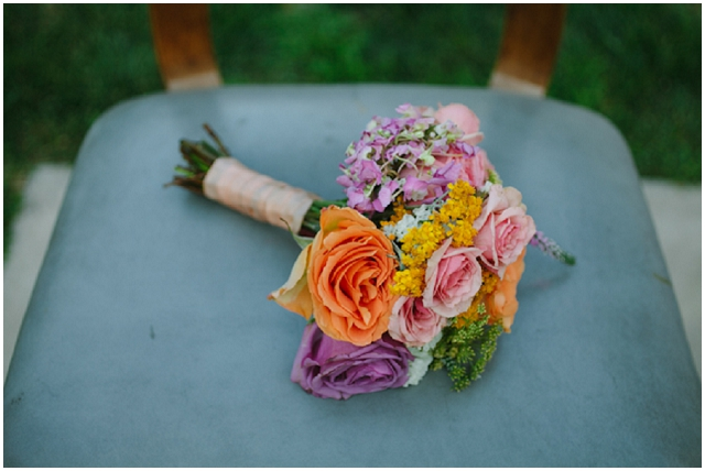 Modern Vintage: Rustic Touches   Real Wedding