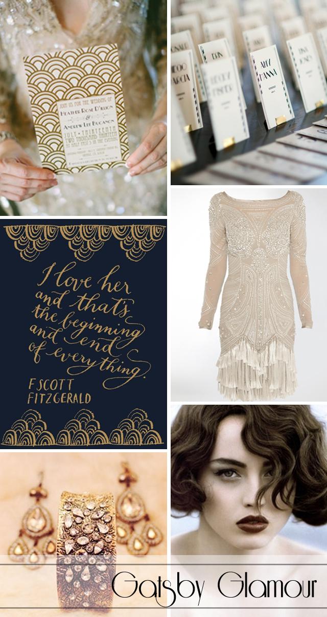 Gatsby Wedding Fever: Gatsby Glamour vs Gorgeous Gatsby