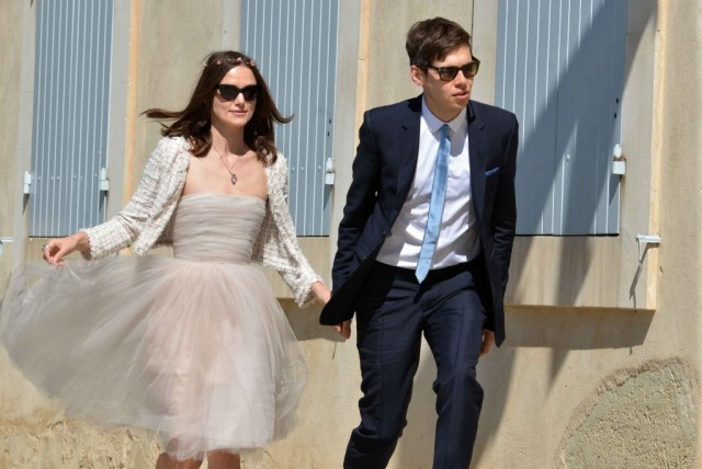 Keira Knightley Wedding Pics - South Of France!