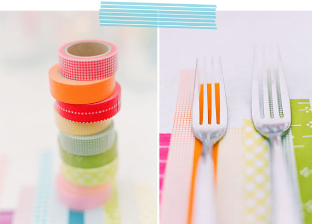 Washi Tape: Wedding Ideas | Inspirations