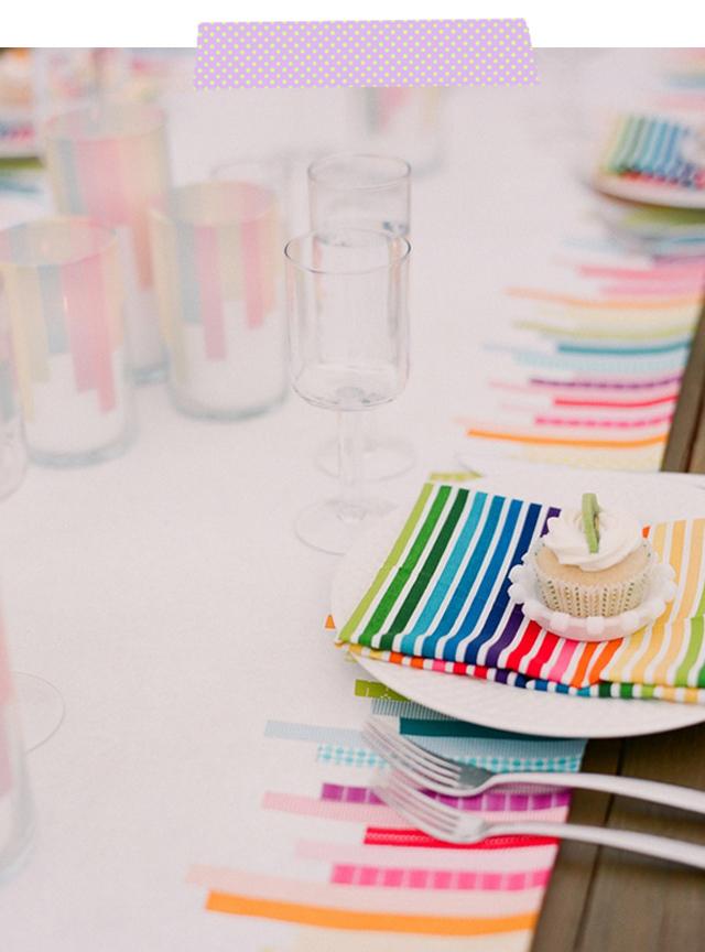 Washi Tape: DIY Wedding Ideas | Inspirations