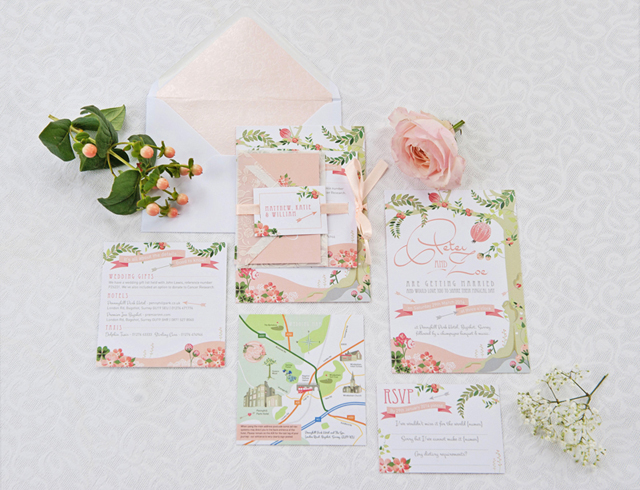 Midsummers Dream Wedding Stationery | Friday Finds