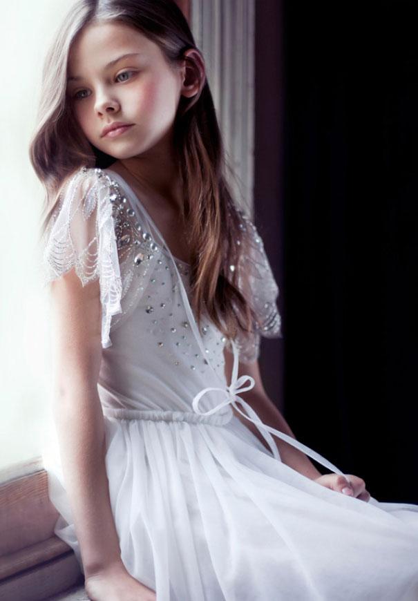 Pretty caplets | Beautiful Flower Girls | Inspiration + Ideas