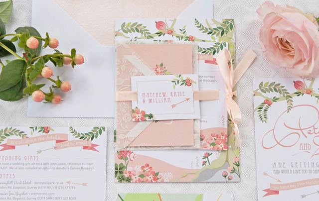 Midsummers Dream Wedding Stationery   Friday Finds