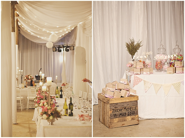 Real Wedding | South African: Pretty Pinks, Silvers and Creams