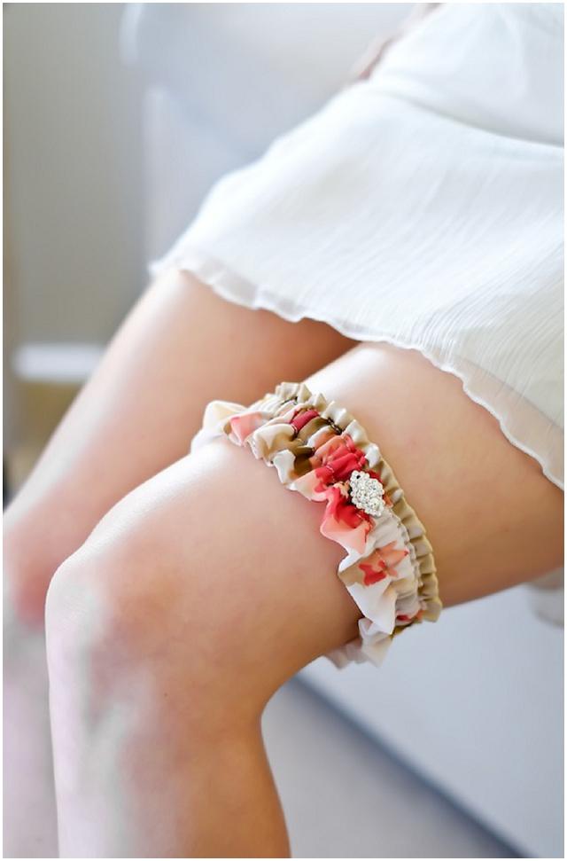 Percy Handmade: Luxury Wedding Garter Collection