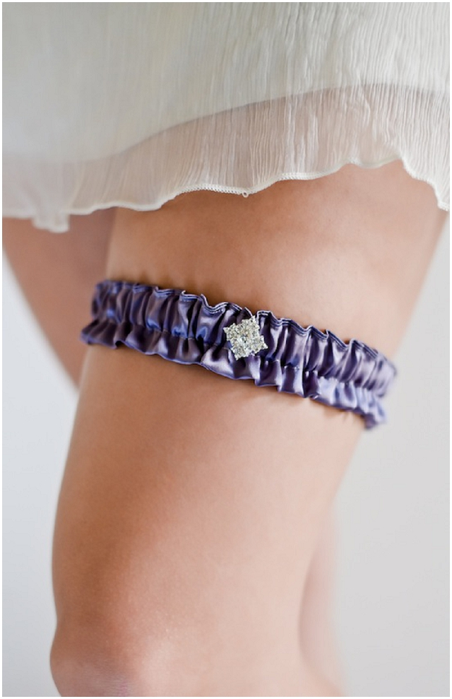 Percy Handmade: Luxury Wedding Garter Collection