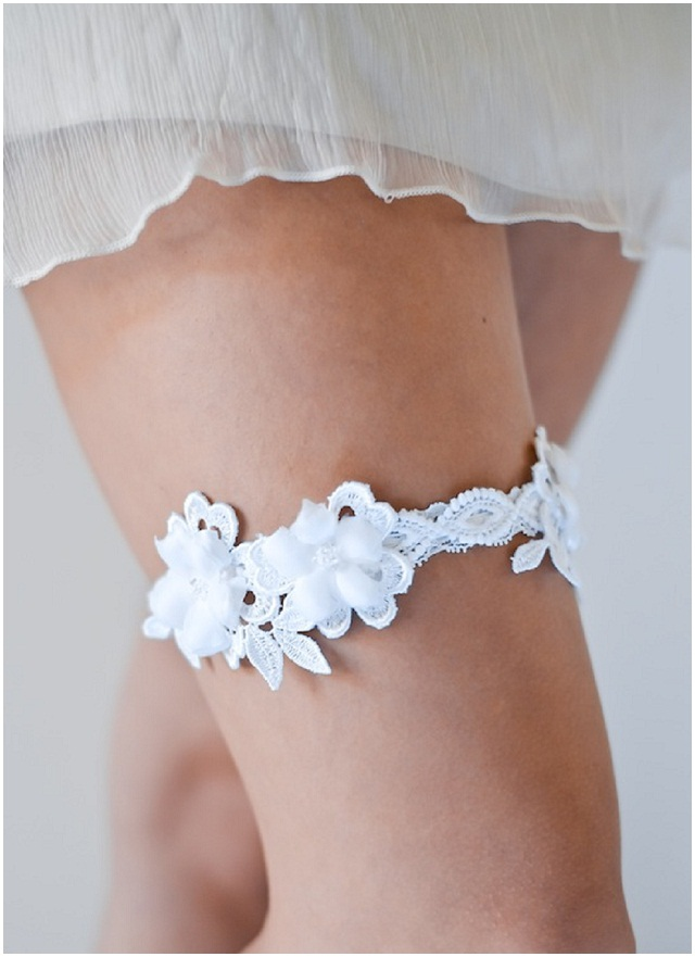 WIN Percy Handmade Luxury Wedding Garter Collection