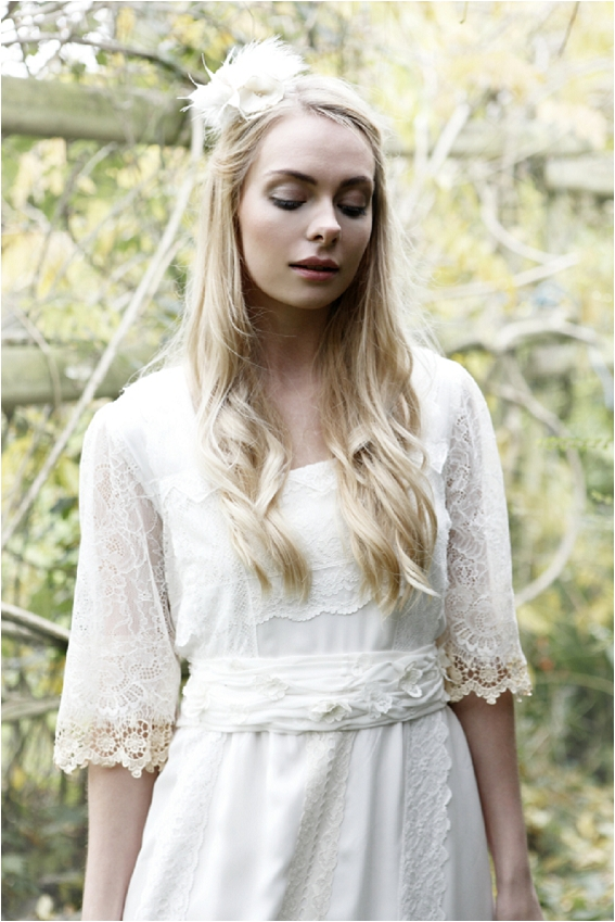 Effortlessly cool boho bridal gowns