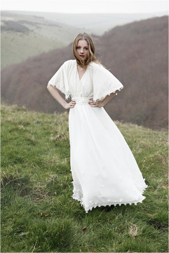 Affordable boho bridal gowns in the UK