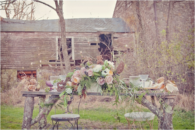 Styled Wedding Shoot: Woodsy | Bohemian