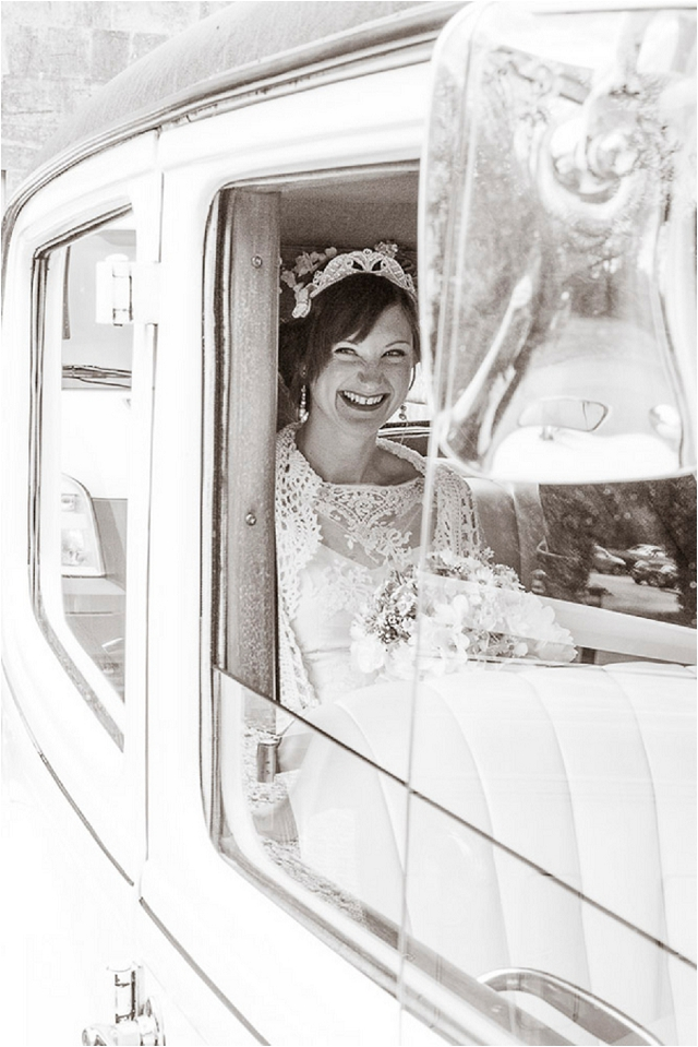 1936 Austin Westminster. Vintage Wedding Car