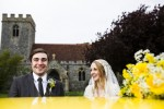 Bright Yellow | Homemade English Country: Real Wedding