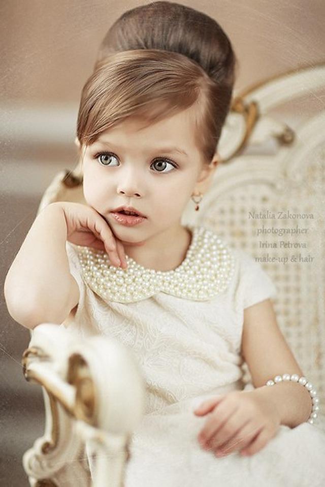 Audrey Hepburn Flower Girl