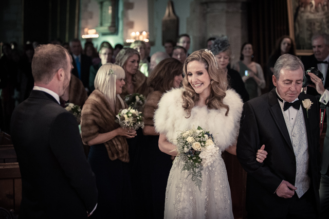 Contemporary Winter Wedding  Real Wedding (13)