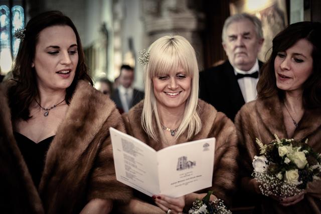 Contemporary Winter Wedding  Real Wedding (18)