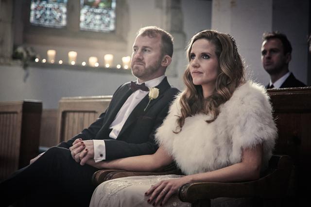 Contemporary Winter Wedding  Real Wedding (23)