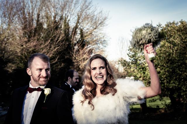 Contemporary Winter Wedding  Real Wedding (28)