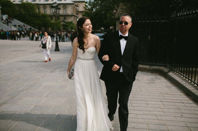Amazing french elopement under the cherry blossoms