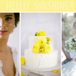Hello Sunshine! Yellow Wedding Inspiration