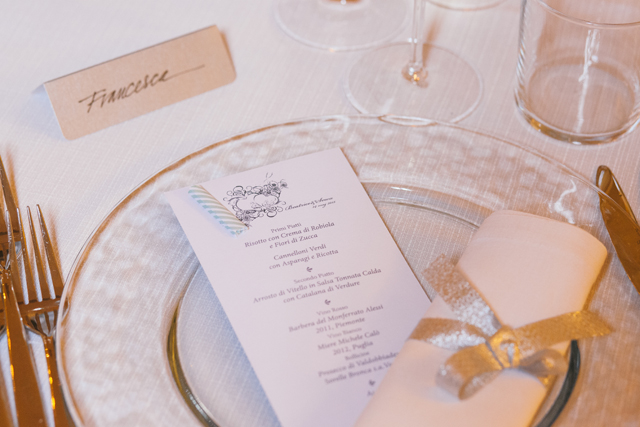 Romantic Italian  Touches of Silver Real Wedding (61)