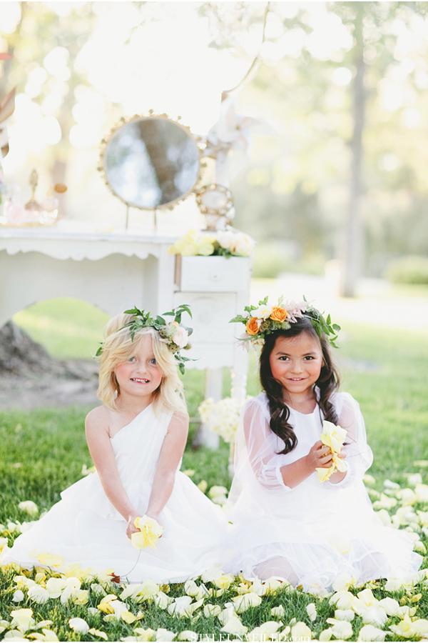 Floral Crowns | Beautiful Flower Girls | Inspiration + Ideas