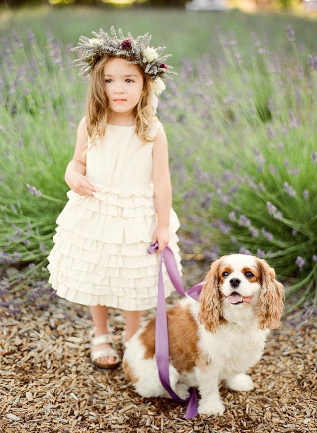 Beautiful Flower Girls | Inspiration + Ideas