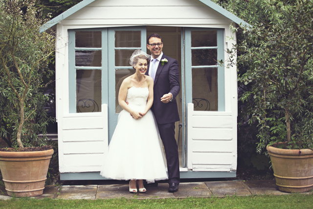 Lovely Black + White   Vintage Inspired: Real Wedding