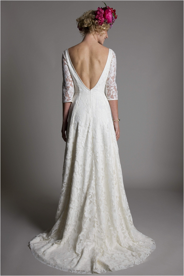 Vintage wedding dresses bridal boutique halfpenny london for Vintage backless wedding dresses