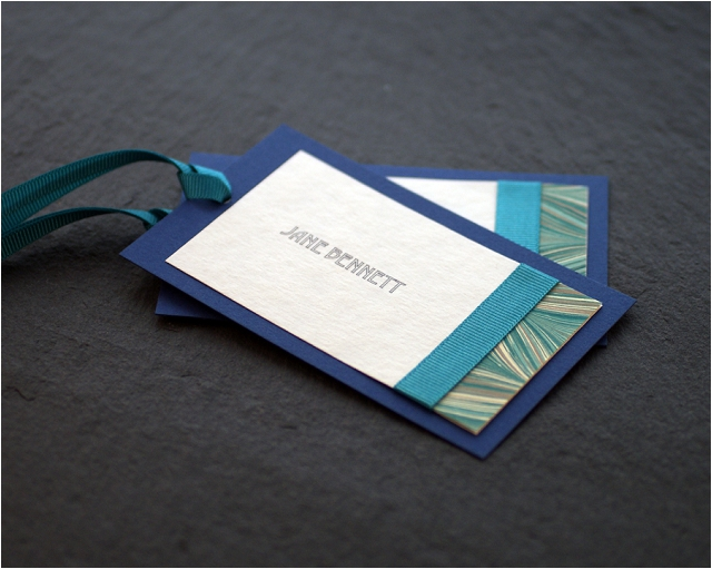 Teal Wedding Stationery