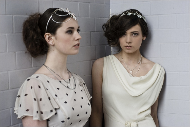 Statement Bridal Headpieces | Goddess Collection: Natasha Jane