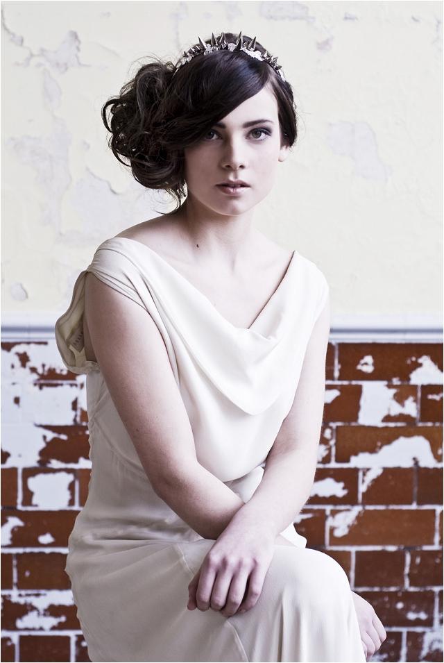 Statement Bridal Headpieces   Goddess Collection: Natasha Jane