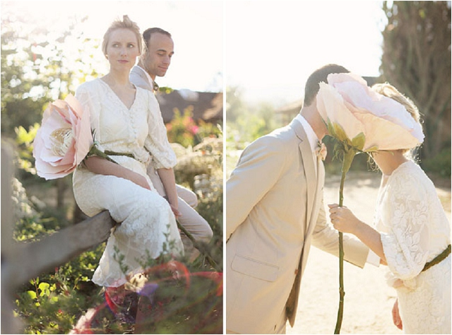 Giant Paper Flower Bouquet | Wedding Ideas