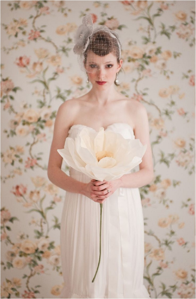 Giant Paper Flower Bouquet | Wedding Ideas