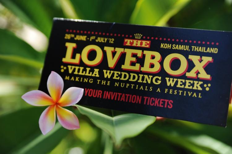 Lovebox | Festival: Destination Wedding