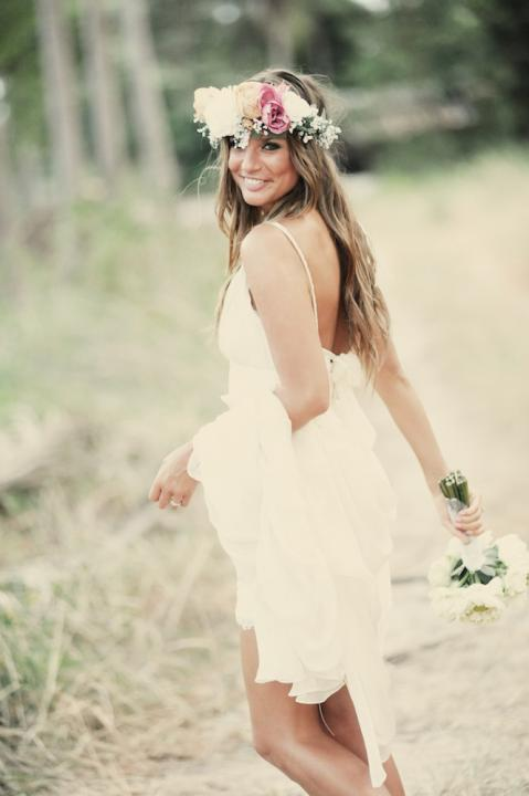 Lovebox | Festival: Destination Wedding [beautiful destination bride with flower crown]