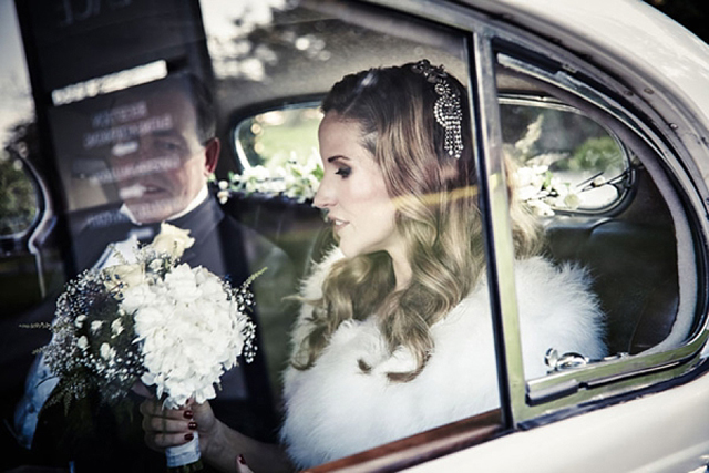Elegant Winter Wedding   Real Wedding