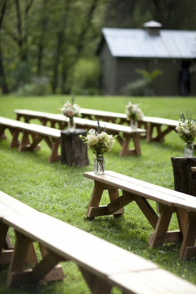 wedding benches for ceremony