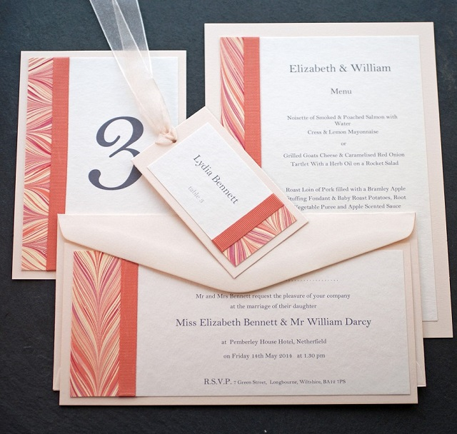 The Florence Wedding Stationery Collection