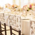 wedding chair ideas - lace wedding chair cover