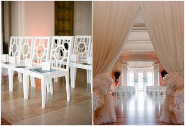 modern wedding chairs
