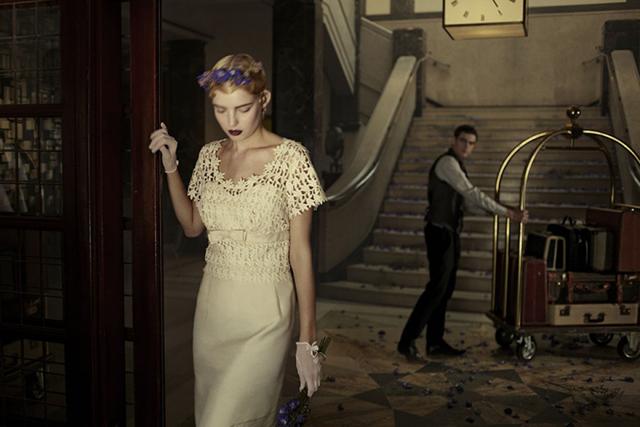 Vintage Wedding Dresses: Bridal Boutique   Halfpenny London
