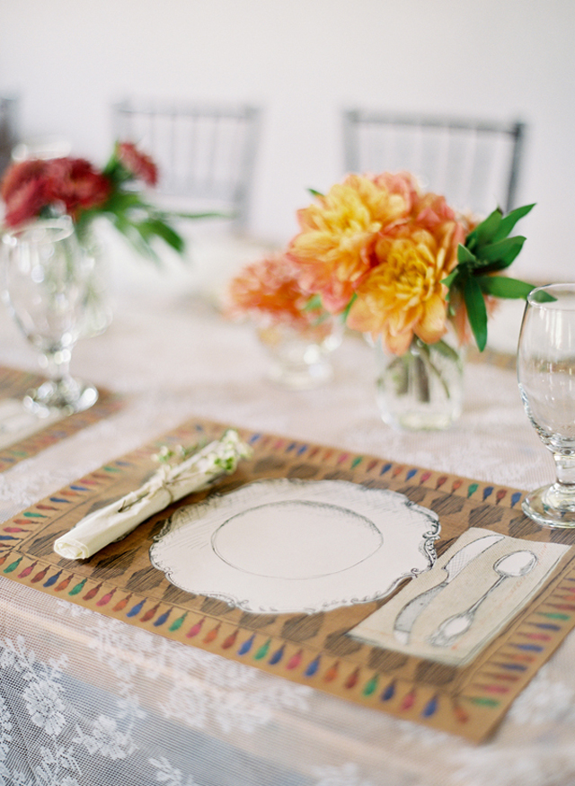 Pretty Tablescapes: Top Wedding Table Settings